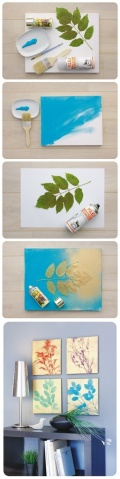 Pinspirations:  DIY Wall Art